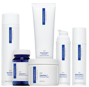 ZO Medical therapeutic skincare products