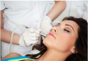 Dermasweep microdermabrasion- at your Charlotte dermatologist
