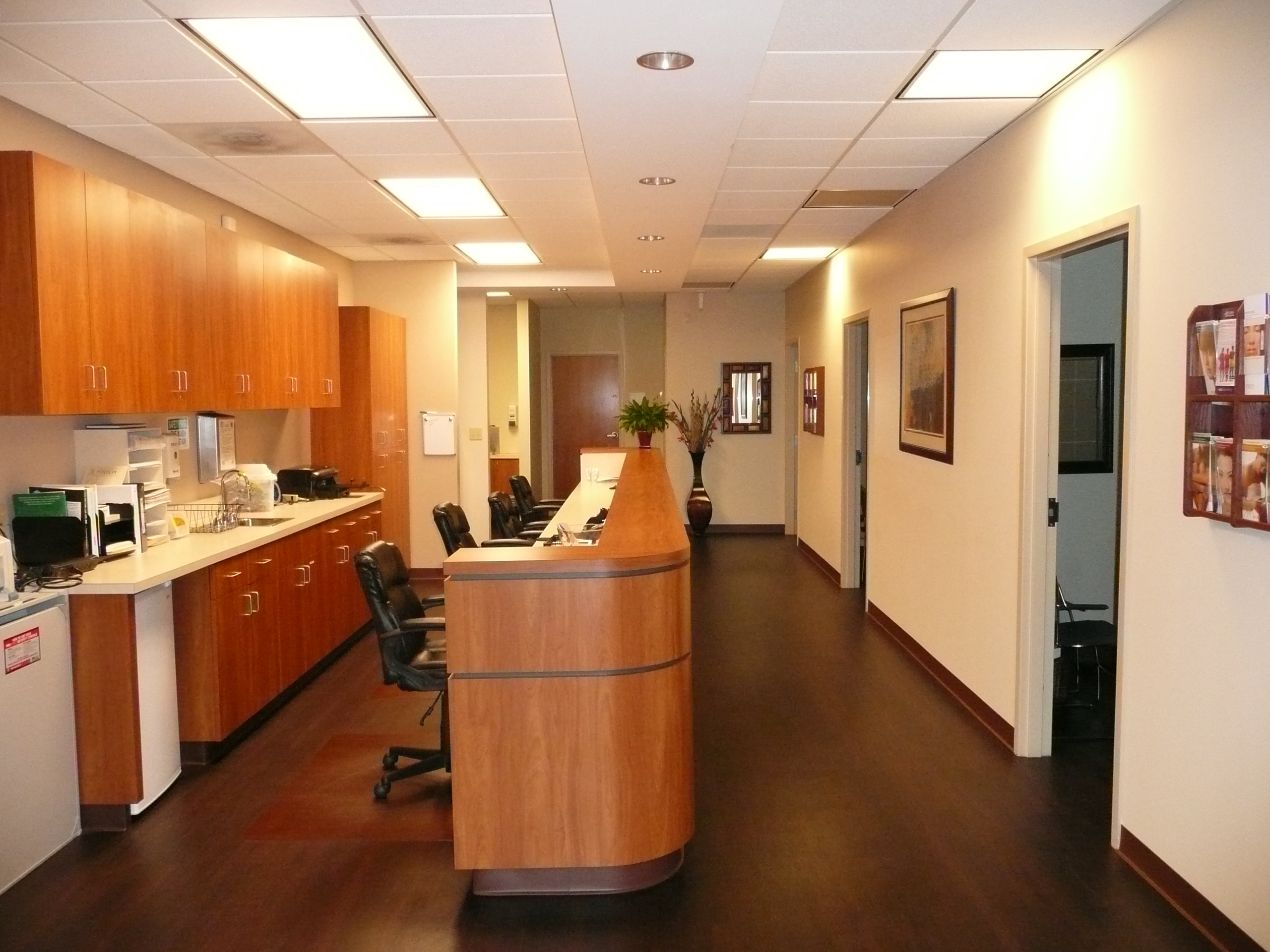 Nurses Station of Dermatology Specialists of Charlotte -2