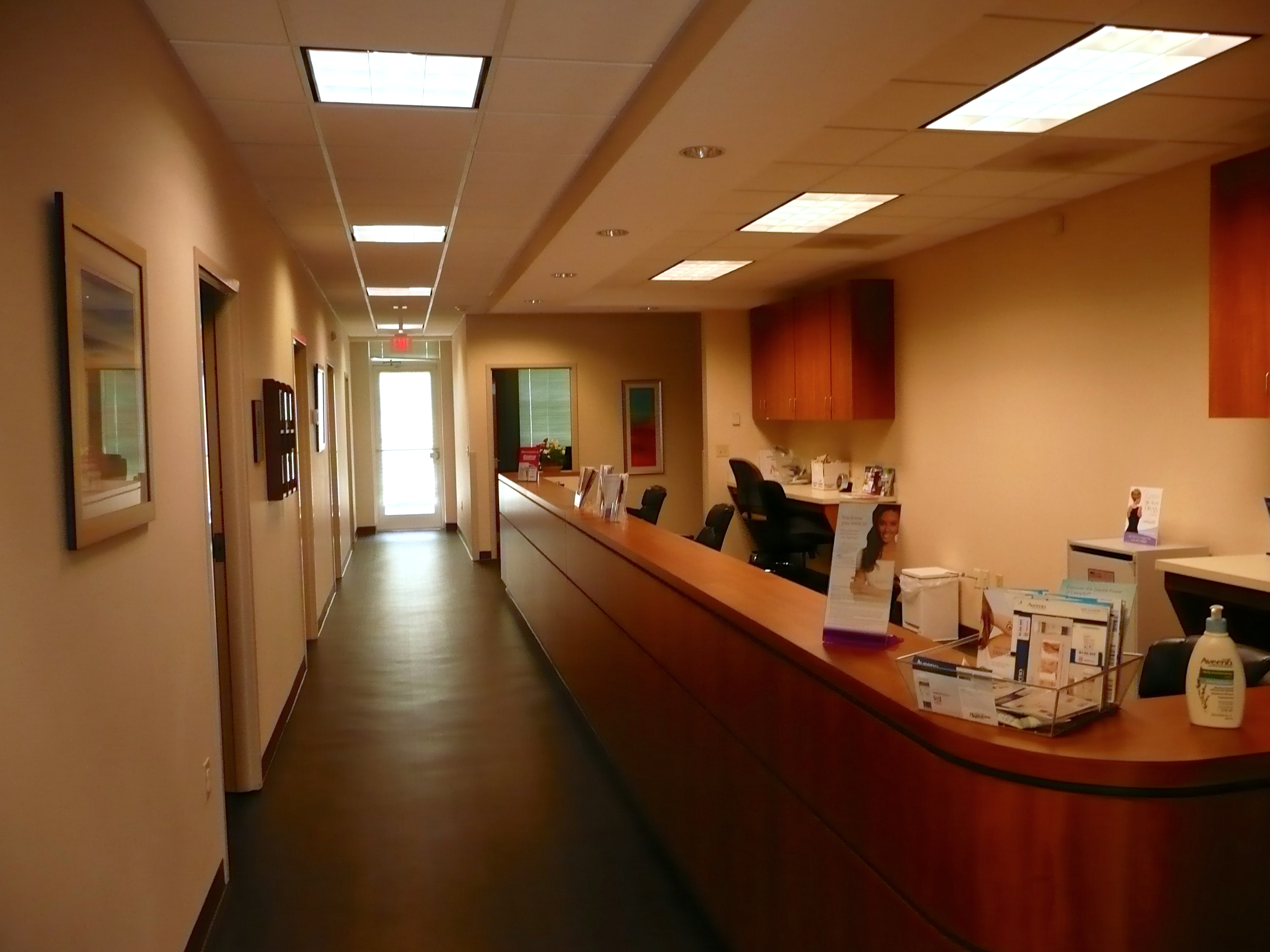 Nurses Station of Dermatology Specialists of Charlotte