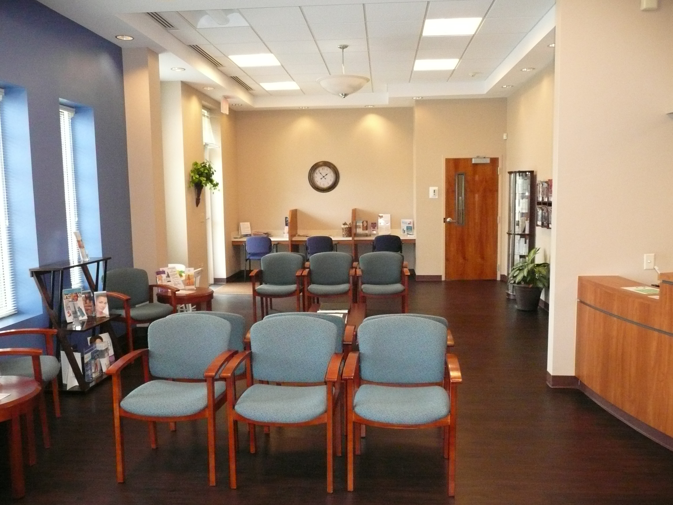 Waiting Room of Dermatology Specialists of Charlotte