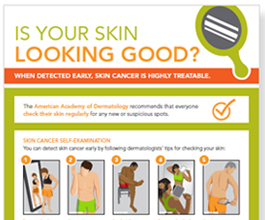 Checking your skin for cancer- visit your Ballantyne dermatologist at DSCMD.com